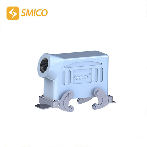 Industrial Plug And Socket Connector,Heavy Duty Wire Connectors Powder Coated Fininshing