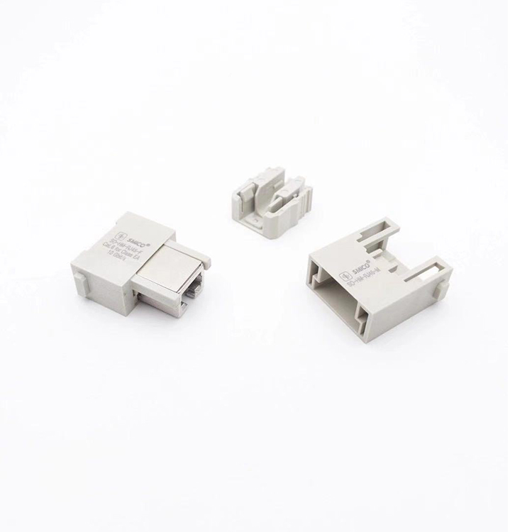 Han-Modular Han RJ45 Modul SO-HM-RJ45-APT/2 heavy duty connector 09140009966